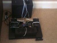 Panasonic blu ray surround sound scbtt 590