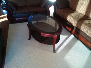 Excellent condition Side coffee table and center coffee table