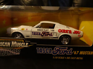 scale 1.18 die cast tasca ford 1967 mustang GT AMERICAN MUSCLE