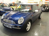 2004 54 reg MINI COOPER - CHILLI PACK - HALF LEATHER SEATS - SERVICE HISTORY