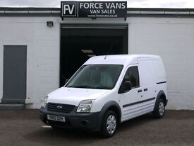 FORD TRANSIT CONNECT T230 1.8TDCi LWB PANEL DAY WORK DELIVERY LOGISTICS VAN