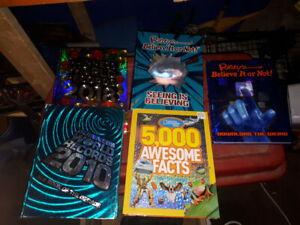 world record and Ripley's believe it or not hard cover books