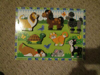 Melissa and Doug wooden Pets puzzle