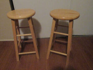 Two Wooden Stools in Excellent Condition!