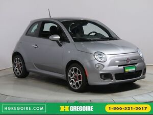 2015 Fiat 500 SPORT AUTO A/C MAGS CUIR BLUETOOTH GR ELECT