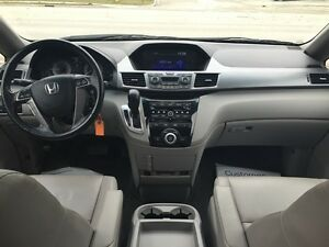 2012 HONDA ODYSSEY EX-L * LEATHER * PWR ROOF * REAR CAM * DVD  London Ontario image 15