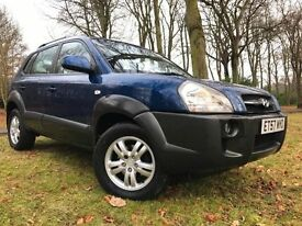 12 MTHS WARR*2008 HYUNDAI TUCSON 2.0 CRDX DIESEL STATION WAGON WITH LEATHER 85K*