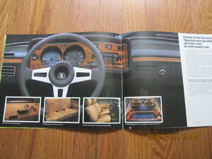 1979 VW Scirocco Dealer Brochure London Ontario image 4