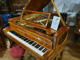 Ascherberg perzina art case baby grand piano for sale