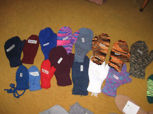 CHILDRENS MITTS AND SOCKS  ASSORTED SIZES AND COLOURS Edmonton Edmonton Area image 2
