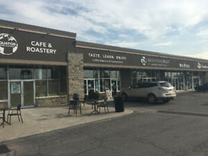 Almonte Retail Space For Lease- Busy Mall with Equator Coffee