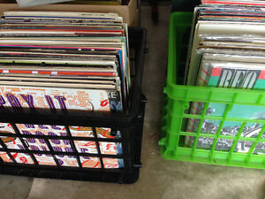 Music records vinyls lps