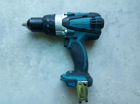 Makita combo drill DHP458