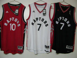 TORONTO RAPTORS BASKETBALL JERSEY OFFICIAL NWT LOWRY