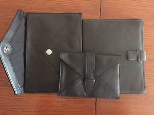 NEW Leather sleeve cover for ipad, kobo - ALL 3 for $40 total