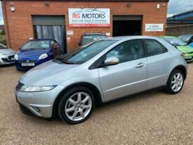 image for 2006 HONDA CIVIC 2.2 i-CDTi SPORT, SILVER 5dr HATCH, EXCELLENT SERVICE HISTORY,