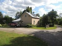 Country Home in un-organized township!