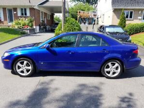 Mazda 6 2004 V6 Bas Kilométrage