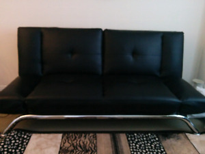 Excellent leather couches in mint condition