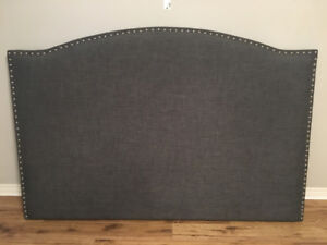 Urban Barn custom headboard for king bed
