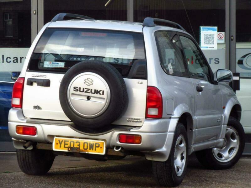 2003 Suzuki Grand Vitara 1.6 SE Estate 3dr SUV Petrol Automatic