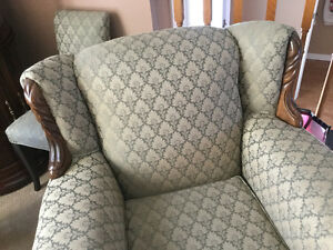 Couch and Chair - EUC -$2500. Spent refurbishing