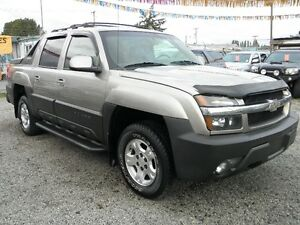 2003 Chevrolet Avalanche 1500 Z71 Crew Cab Body Cladding 4x4