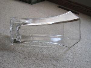Very heavy glass vase Windsor Region Ontario image 2