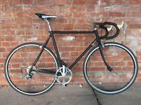 VINTAGE FONDRIEST COLUMBUS FRAME STEALTHED OUT ROAD BIKE IDEAL COURIER WEAPON