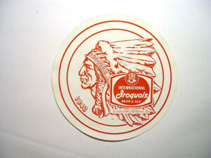 Original Vintage Iroquois Beer Tray Liners