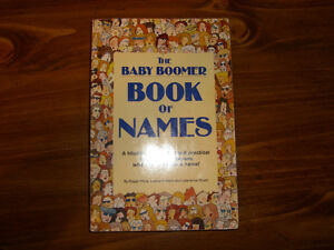 Book of Names - NEW PRICE Kitchener / Waterloo Kitchener Area image 1