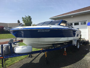 exc condition bowrider ,aq151c,marine closed cooling,deep Vhull