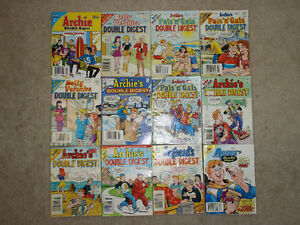 Lot of 12 English Double Digest Archie Comics