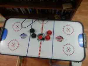 Air hockey and football table for sale