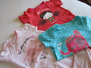 Lot de 3 chandails Souri-mini  fille       12-18 mois