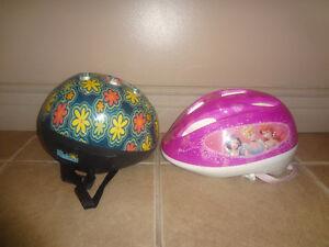 Bike Helmets- ($8 each) 7-9 yr old