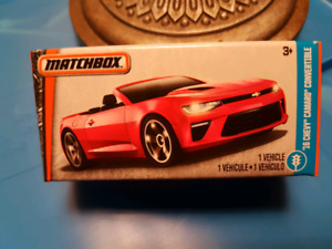 Matchbox Power Grabs 16 Chevy Camaro Convertible