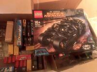 Lego Batman Tumbler 76023 NEW AND SEALED BOX