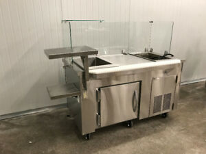 Custom Refrigerated Cold Counter - On Sale!