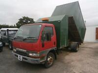 1999 MITSUBISHI CANTER 4.0 TURBO DIESEL 7500KG TIPPER LORRY TREE TRUCK EXPORT