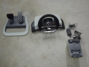 Steering wheel set up