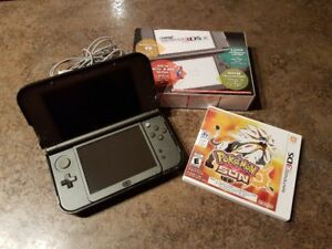 The New Nintendo 3DS XL with Pokemon Sun