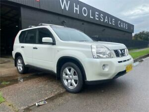 2009 Nissan X-Trail T31 MY10 ST-L White 1 Speed Constant Variable Wagon