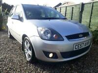 Ford ** FIESTA ZETEC ** 1.25 ONLY 55k miles 5 door LOW MILEAGE CHEAP INSURANCE
