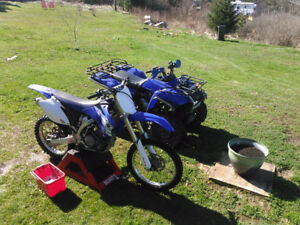 2007 Yz250f trade for a boat