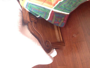 Bed frame, night tables and 2 dressers Stratford Kitchener Area image 3