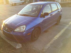 2005 Suzuki Aerio SX wagon Must Go ASAP, No parking