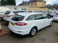 2017 17 FORD MONDEO 2.0 TDCI 150 ECONETIC STYLE WHITE ESTATE DIESEL EX POLICE