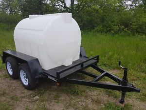 *Reduced*  Water Tank and Trailer for sale