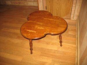 Small Hardwood Table